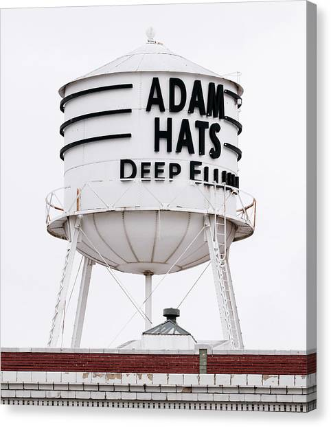 Adams Hats Deep Ellum Texas 061818 Canvas Print