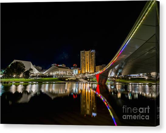 Adelaide Riverbank Canvas Print