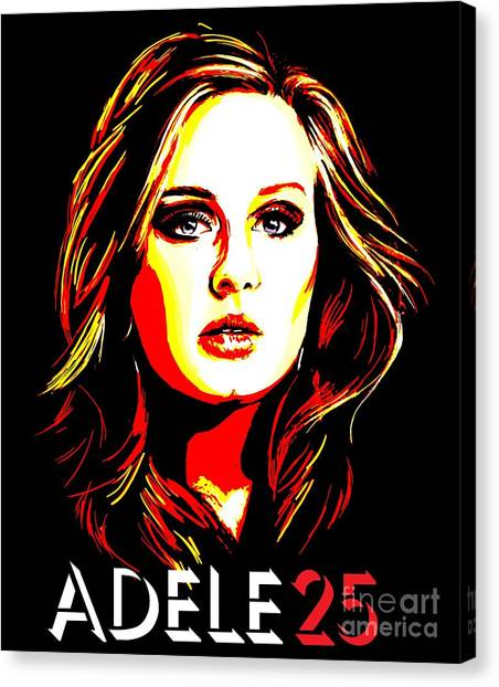 Adele Canvas Print - Adele 25-1 by Tim Gilliland