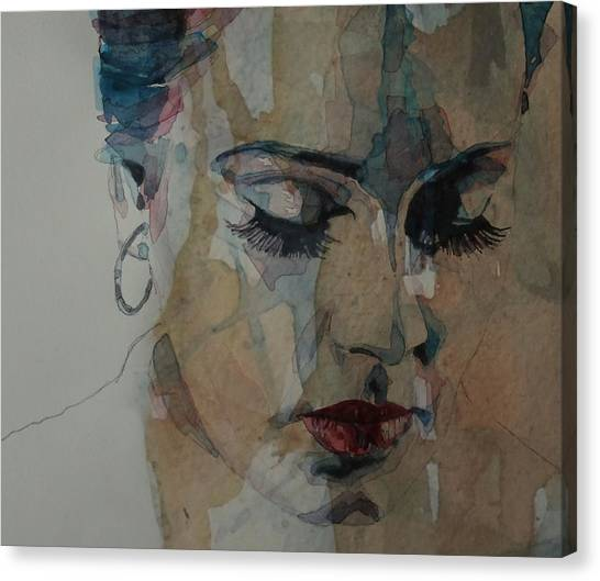 Adele Canvas Print - Adele - Make You Feel My Love  by Paul Lovering