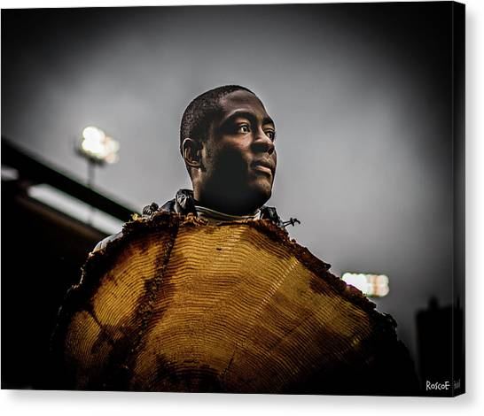 Portland Timbers Canvas Print - Adi Wood Cookie  by Roscoe Myrick