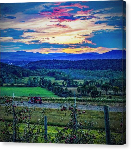 Adirondack Country Canvas Print