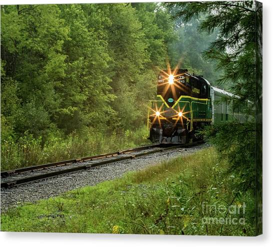 Adirondack Rr Canvas Print