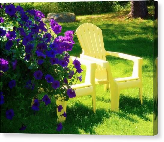 Adirondack Summer Days Canvas Print