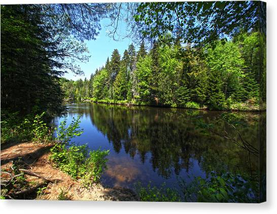 Adirondack Waters Canvas Print