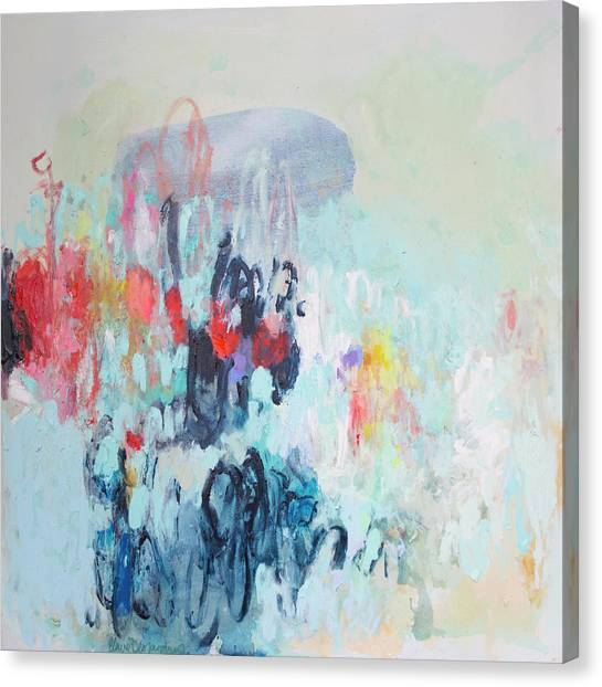 Canvas Print - Admirable Intentions by Claire Desjardins