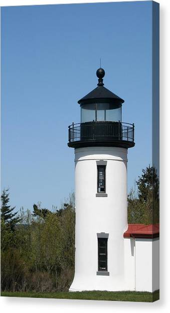Admiralty Head Lighthouse Li2001 Canvas Print by Mary Gaines