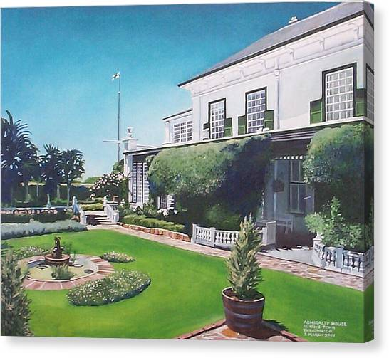 Admiralty House Canvas Print