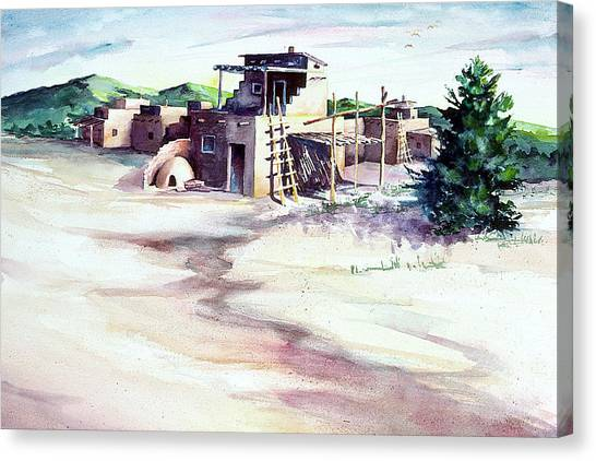 Adobe Pueblo Canvas Print