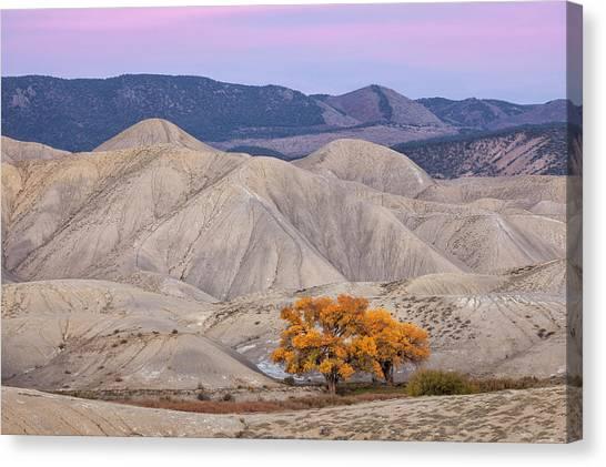 Adobe Sunset Canvas Print