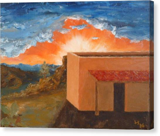 Adobe Xiv Canvas Print by Lowell Smith