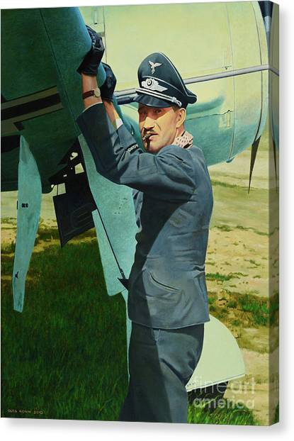 Adolf Canvas Print