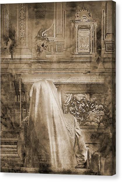 Adoration Chapel 2 Canvas Print