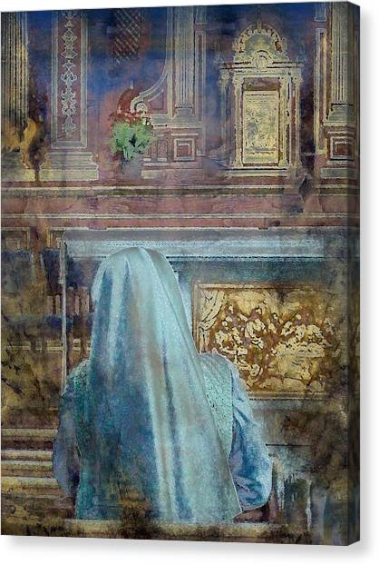 Adoration Chapel 3 Canvas Print