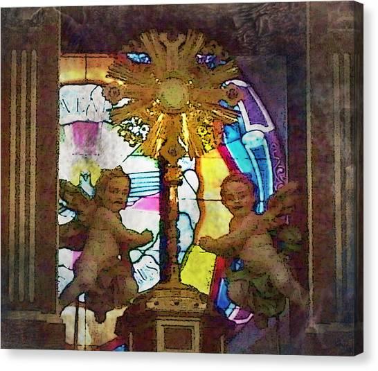 Adoration Chapel 4 Canvas Print