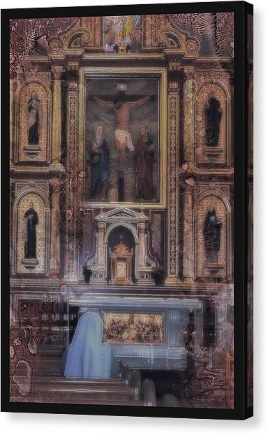 Adoration Chapel 5 Canvas Print