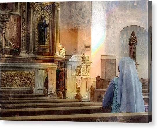 Adoration Chapel Canvas Print