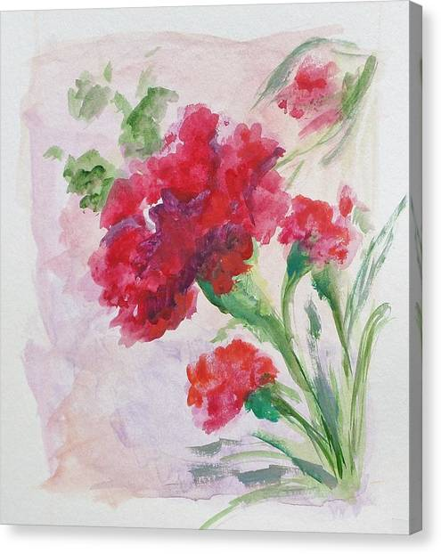 Chi Omega Canvas Print - Adore by Susie Monzingo