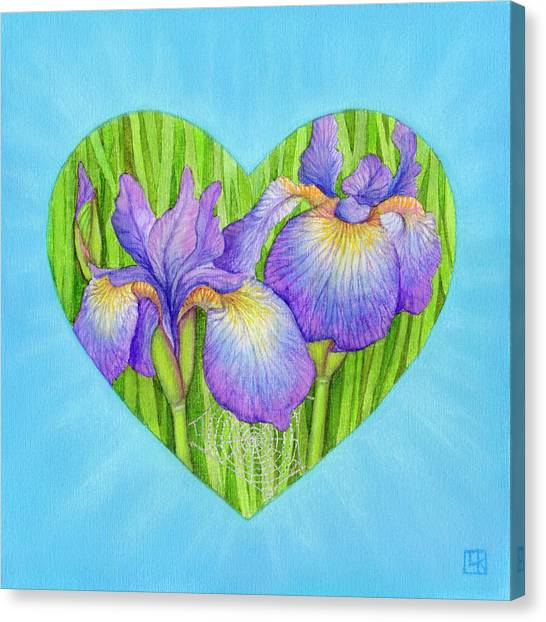 Adree Canvas Print by Lisa Kretchman
