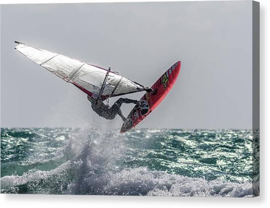 Acrobatic Canvas Print - Adrenaline by Stelios Kleanthous