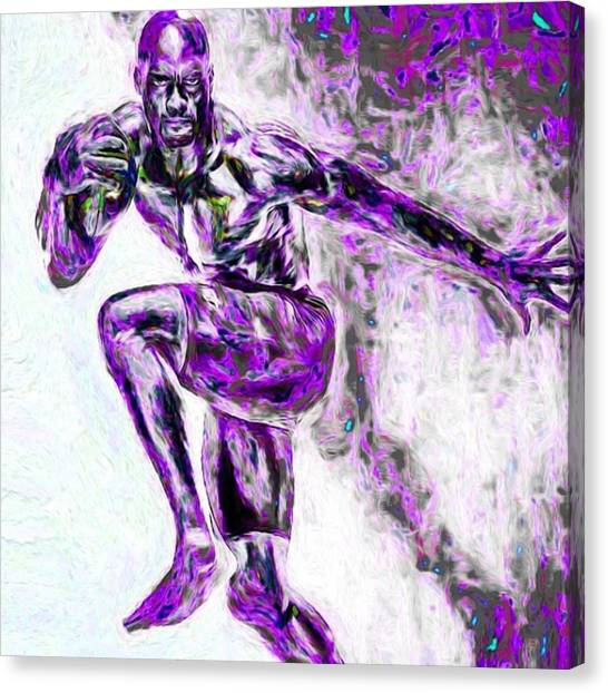 Minnesota Canvas Print - @adrian_peterson_fanpage by David Haskett II