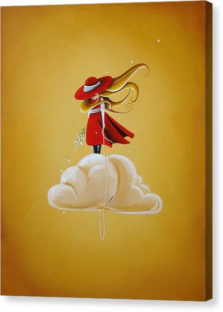 Imagination Canvas Print - Adrift by Cindy Thornton