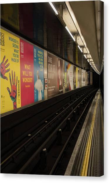 Ads Underground Canvas Print