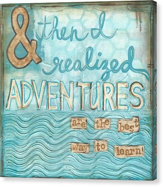 Adventures Canvas Print