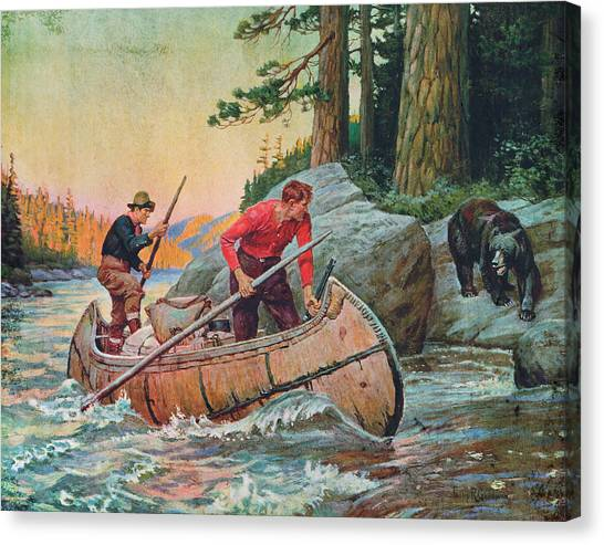 Rivers Canvas Print - Adventures On The Nipigon by JQ Licensing