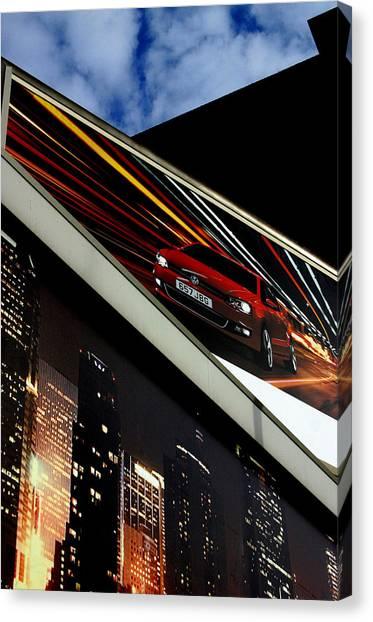Advertising World Canvas Print by Jez C Self