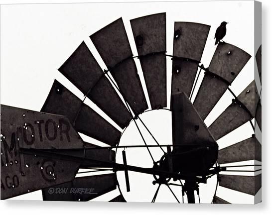 Canvas Print - Aermotor Bird by Don Durfee