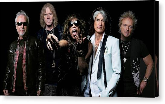 Aerosmith Canvas Print - Aerosmith by Sean