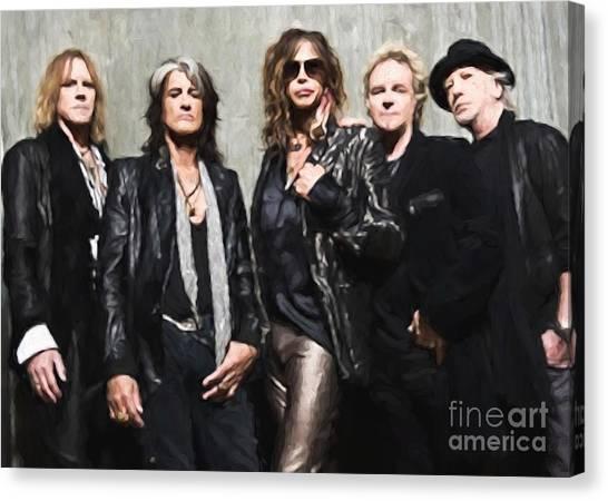 Aerosmith Canvas Print