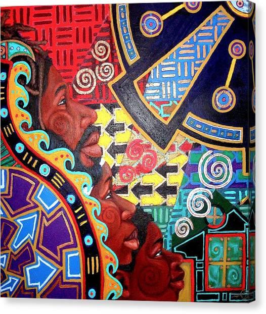 Aesthetic Ascension Series Canvas Print by Malik Seneferu