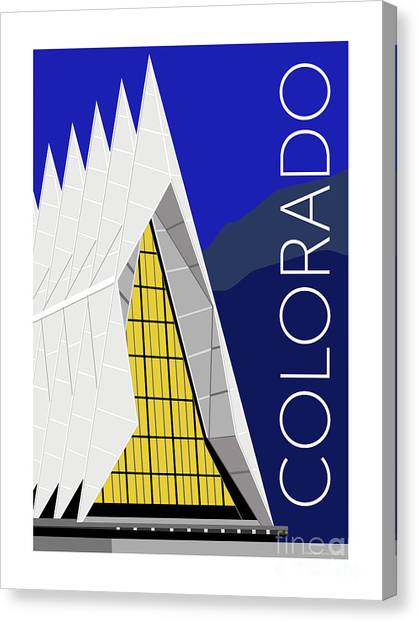 Colorado Afa Chapel Canvas Print