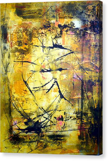Aforethought Abstract Canvas Print