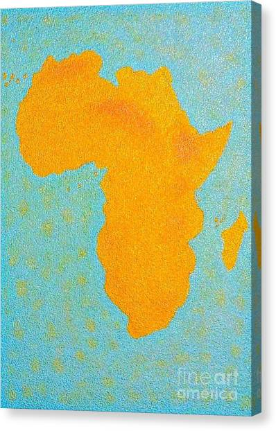 Africa No Borders Canvas Print
