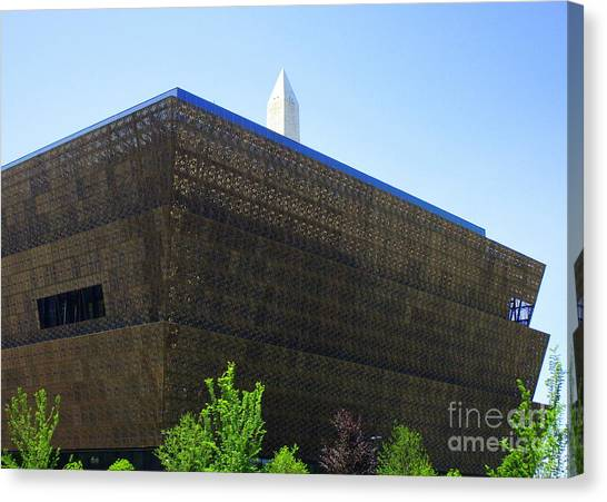 Smithsonian Museum Canvas Print - African American History And Culture 1 by Randall Weidner