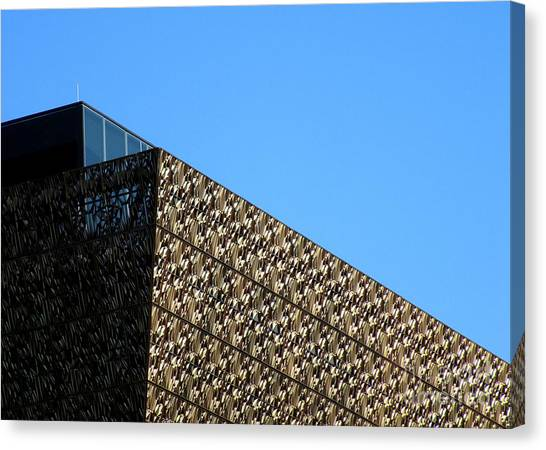 Smithsonian Museum Canvas Print - African American History And Culture 2 by Randall Weidner