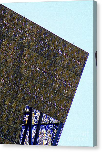 Smithsonian Museum Canvas Print - African American History And Culture 4 by Randall Weidner