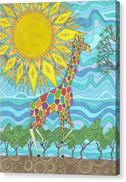 African Rainbow Canvas Print