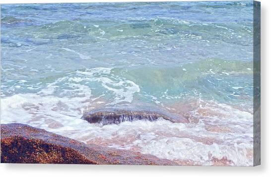 African Seashore Canvas Print