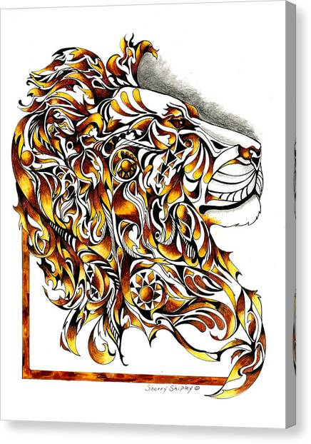 African Spirit Canvas Print