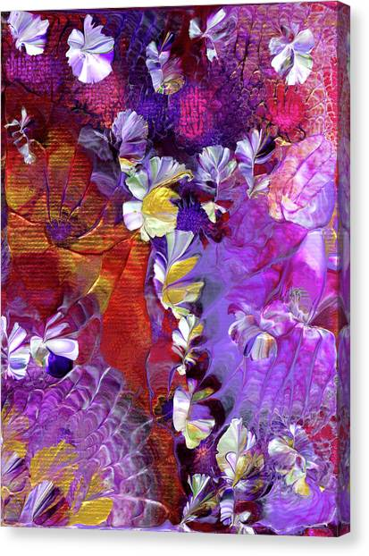 African Violet Awake #5 Canvas Print