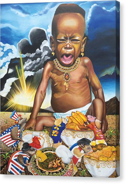 African't Canvas Print