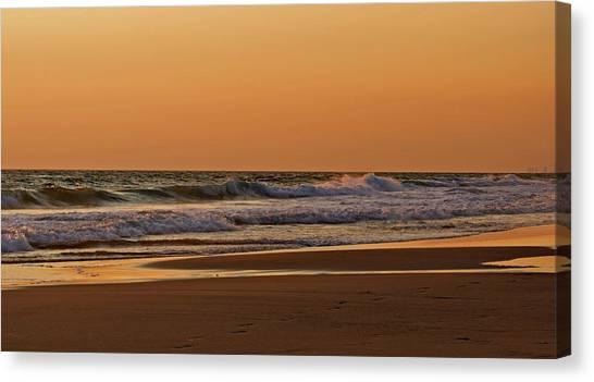 After A Sunset Canvas Print