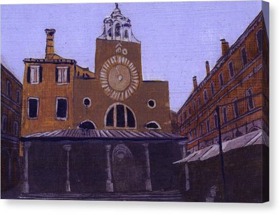 After Campo San Giacometto Canvas Print by Hyper - Canaletto