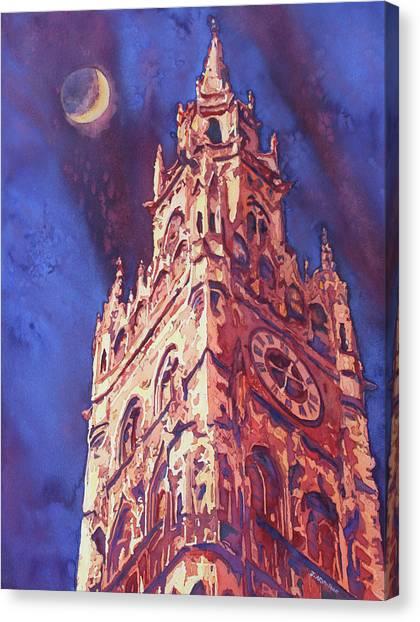 Munich Canvas Print - After Midnight by Jenny Armitage