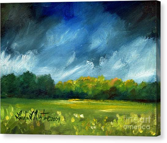After Spring Rain Canvas Print
