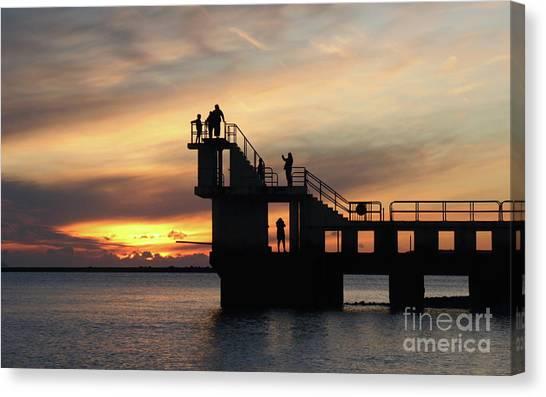 After Sunset Blackrock 5 Canvas Print